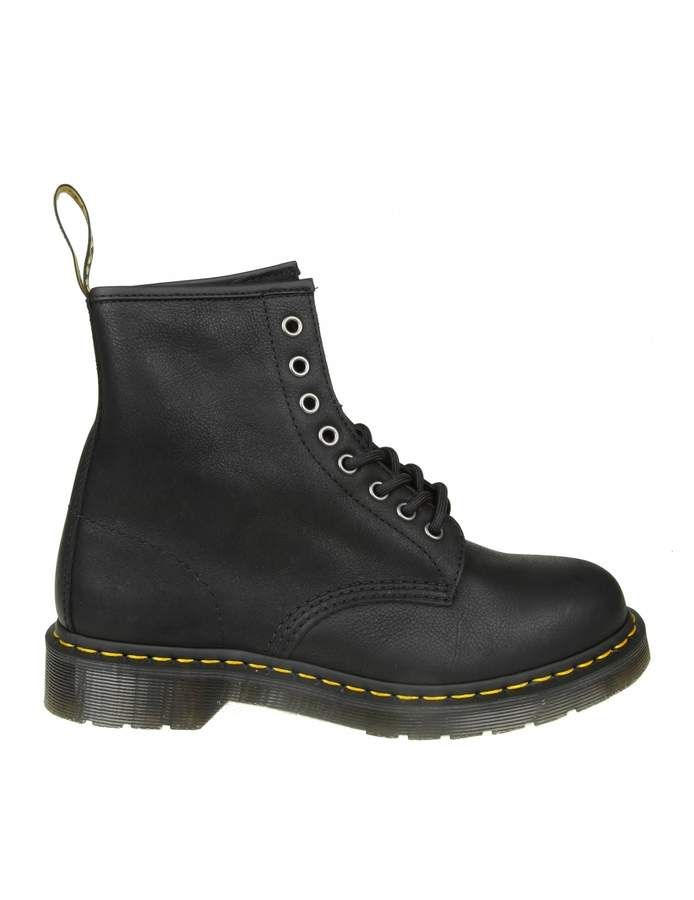 Dr.martens Black Leather Anfibio