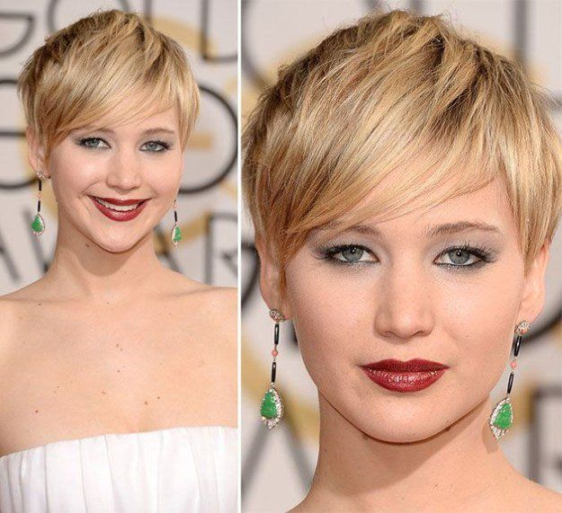 How to Do Jennifer Lawrence Short Hair | Celebrity Inspiration by Makeup Tutoria...