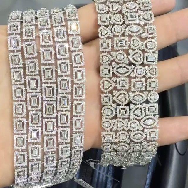 STUNNING!!!  #Diamond Bracelets by @goharjewelry #jewelry #highjewelry #finejewe...