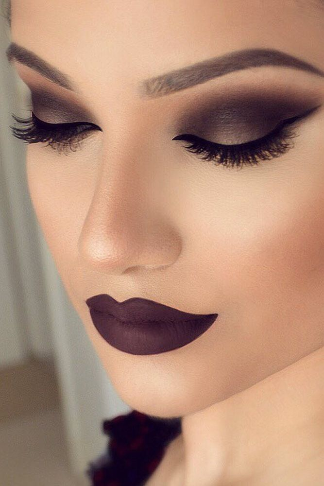 21 Sexy Smokey Eye Makeup Ideas to Help You Catch His Attention ☆ See more…