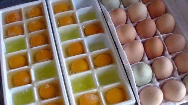 Make eggs last longer by freezing them.