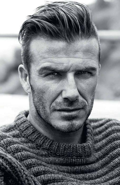Fashionable Men S Haircuts David Beckham Hairstyle