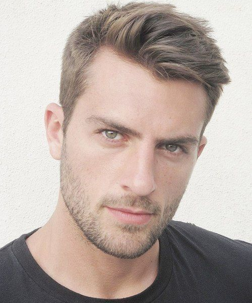 Fashionable Men S Haircuts Short Hairstyles For Men With Thin