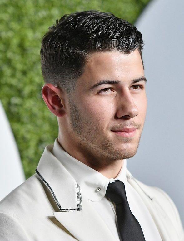 Fashionable Mens Haircuts Vjbrendan Nick Jonas At The 2016