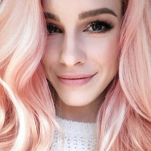 Blonde and Pink Ombre | 15 Ombre Hair Color Ideas