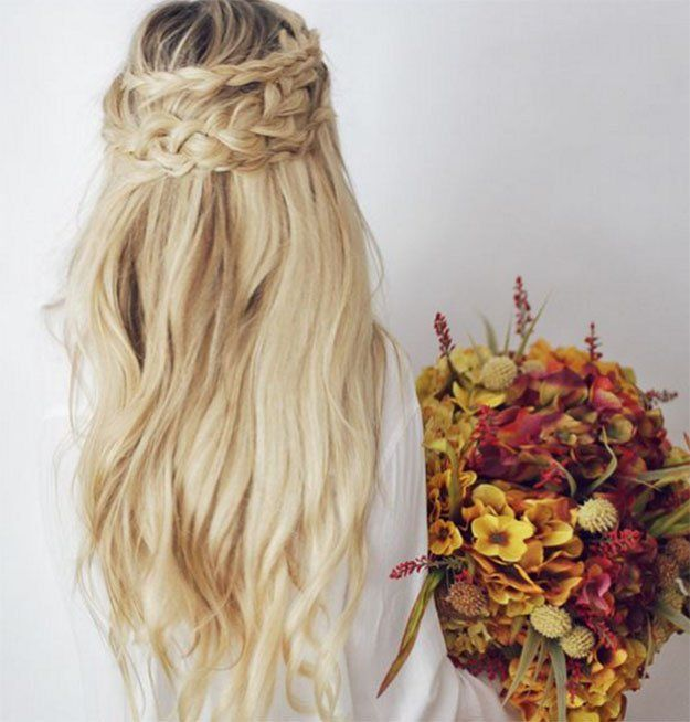 Half Up Boho Braid | 24 Perfect Prom Hairstyles | Makeup Tutorials Guide