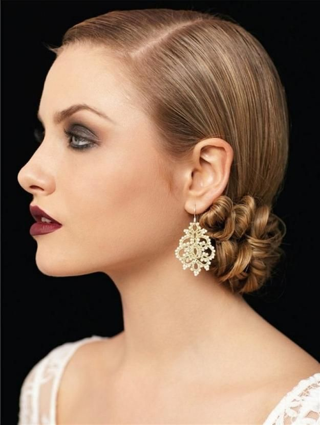 The Vintage Hairstyle   Homecoming Dance Hairstyles Inspiration Perfect For The ...