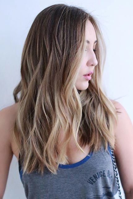 Browse Instagram-approved long hair inspiration  at /stylecaster/ | subtle balay...