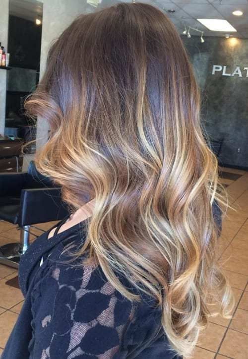 caramel balayage for brown hair -- not what I want