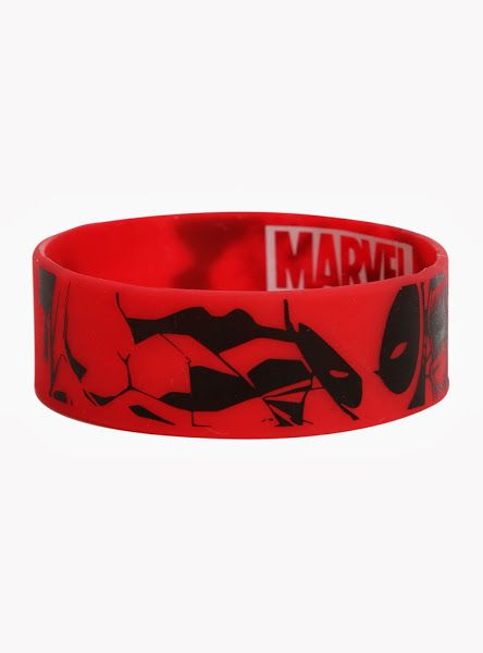 Deadpool Rubber Bracelet