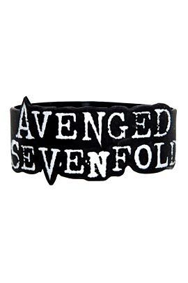 Rubber bracelet + Avenged Sevenfold = awesomesauce!