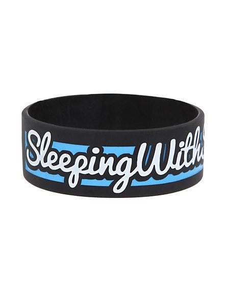 Sleeping With Sirens Forever Rubber Bracelet | Hot Topic