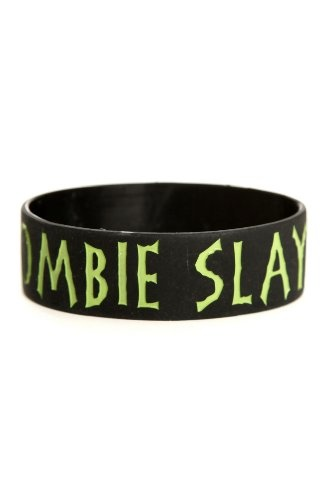Zombie Slayer Rubber Bracelet