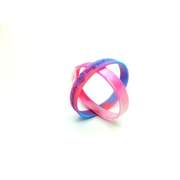 Customized lovers logo thin siliconew bracelet  #siliconewristband #customsilico...