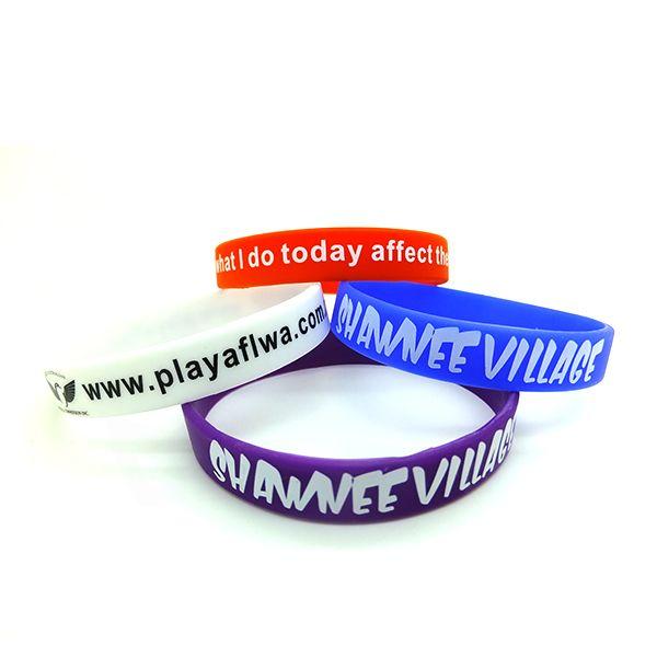 Customized women logo silicone bracelet   #Best-sellingsiliconewristband  #butto...