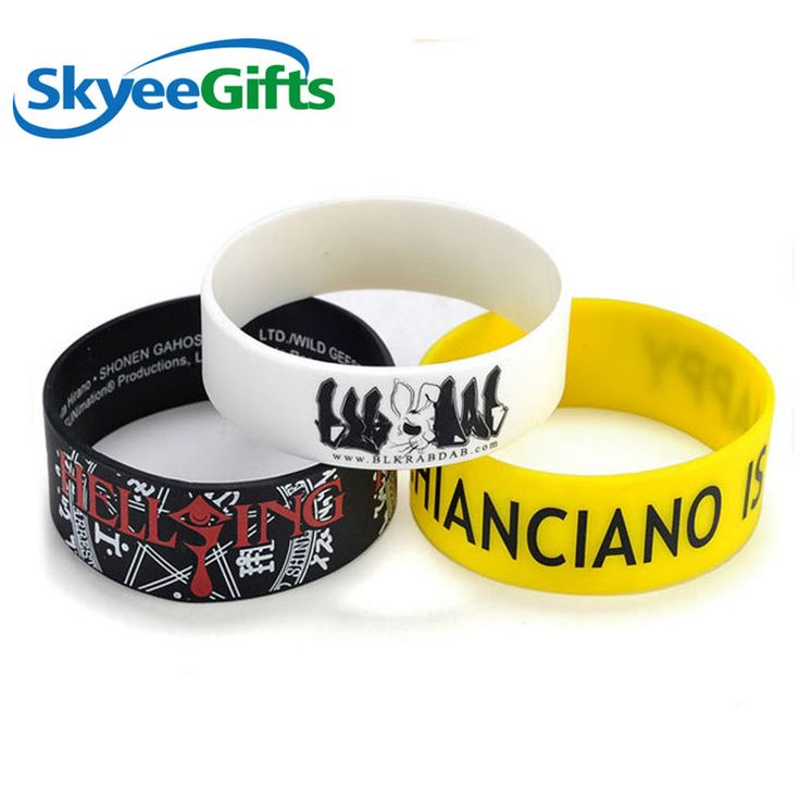 Factory custom color silicone wristbands with spray paint    #siliconewristbandw...