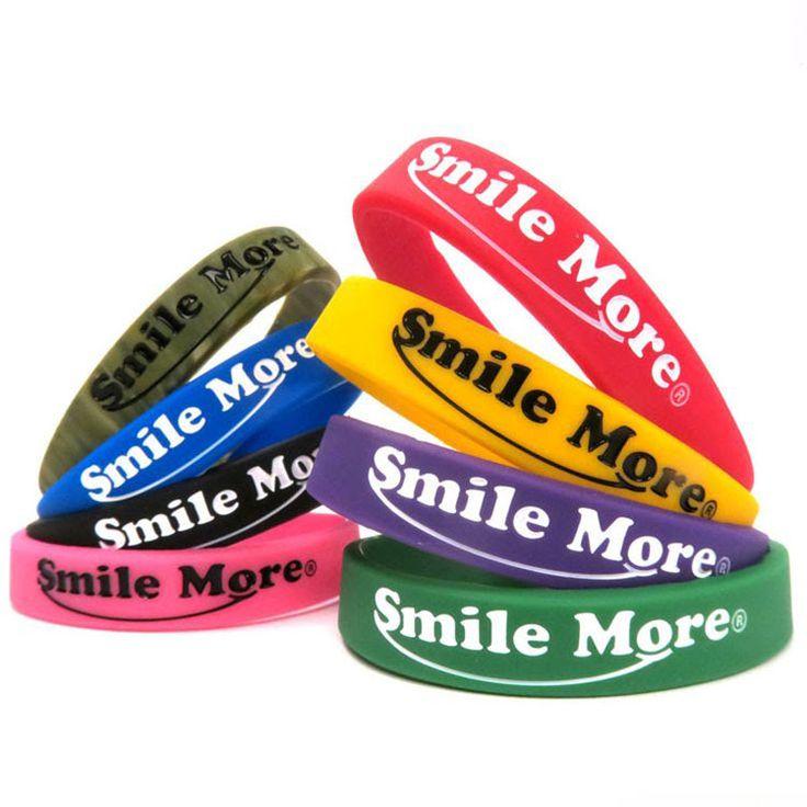 Gift occasion silicone bangle bracelets in multi-colors    #cutesportssiliconebr...