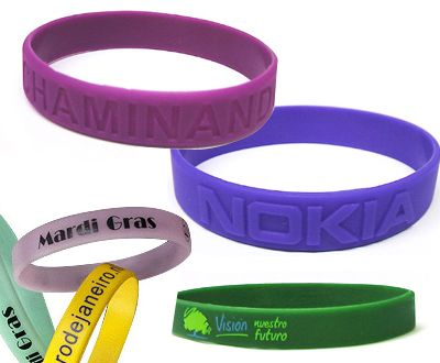 Silicone wristbands are available in various colors    #siliconewristband