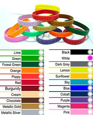 Various color od silicone wristband  #siliconewristband
