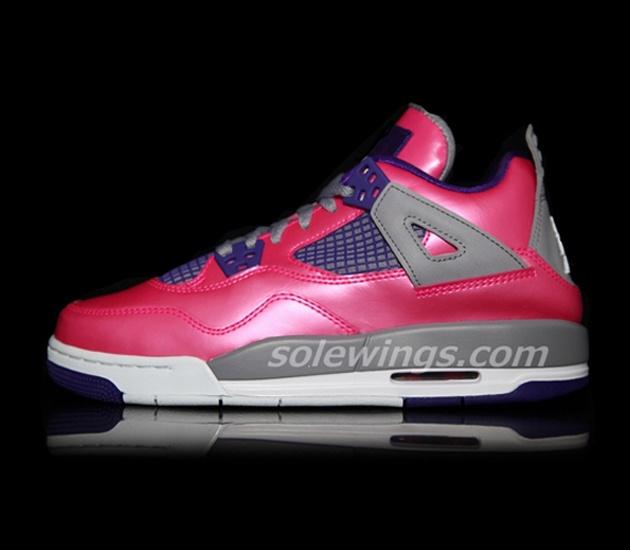 Air Jordan IV GS – Pink / Purple (2013)