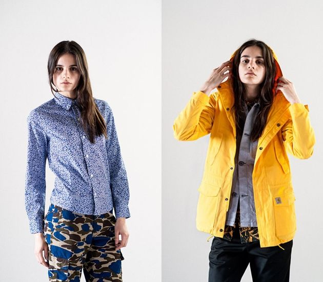 Lookbook Carhartt WIP womens collection (Spring/Summer 2014) Preview