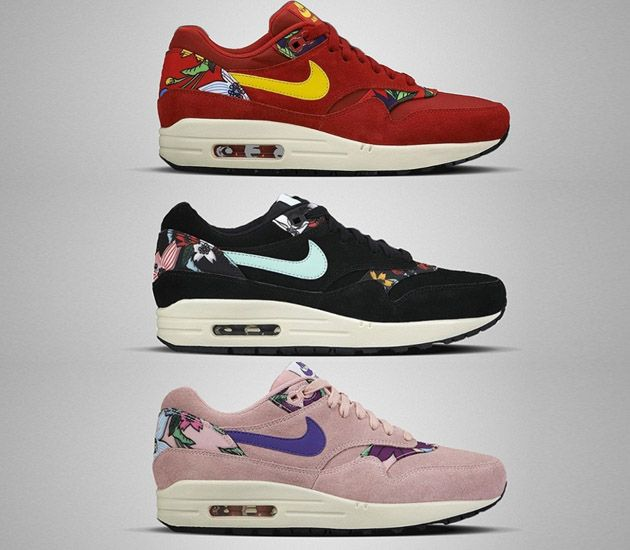 "Trendy Women s Sneakers 2017  2018   Nike Air Max 1 WMNS ""Aloha Pack ... e98ebec3ba"