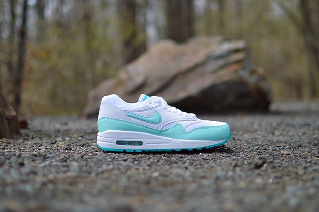 pretty nice 9bc84 fb14c Nike Air Max 1 WMNS-White-Artisan Teal-Light Retro-2