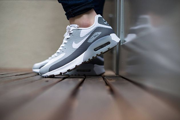 separation shoes 7db98 6e6ed Nike Air Max 90 Ultra Breathe WMNS-White-Cool Grey-Wolf Grey-2