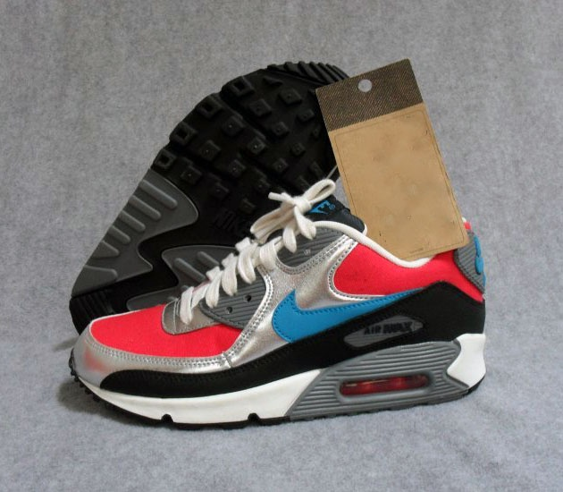 Nike Air Max 90 WMNS – Hyper Red / Neo Turquoise #sneakers #kicks