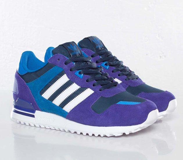 adidas Originals ZX 700 W – Black Purple / Running White – Bluebird