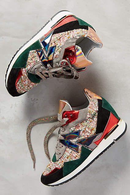 Elena Iachi Rio Sneakers - anthropologie.com