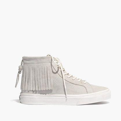 Madewell - Vans SK8-Hi Moccasin High-Top Sneakers