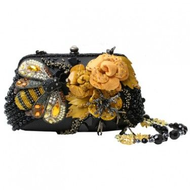 All Abuzz by Mary Frances  This bag will cause a social gathering and have your ...