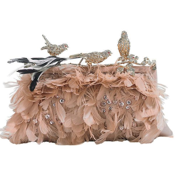 valentino bird clutch ❤ liked on Polyvore featuring bags, handbags, clutches, ...