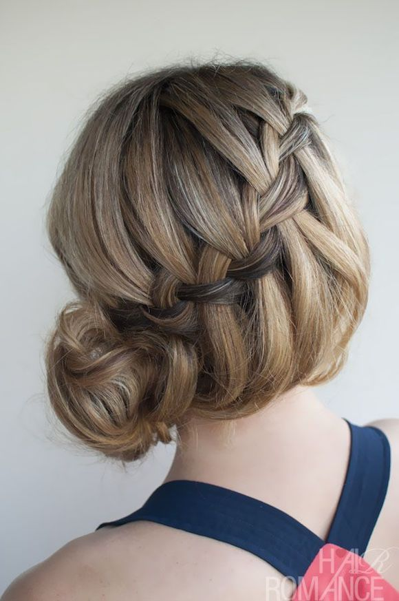 Hairstyles For Long Hair : Waterfall Braid, Different Kind of Braids ...