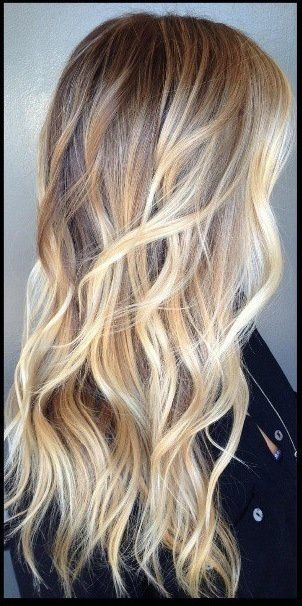 Hairstyles For Long Hair 11 Bombshell Blonde Highlights For Dark