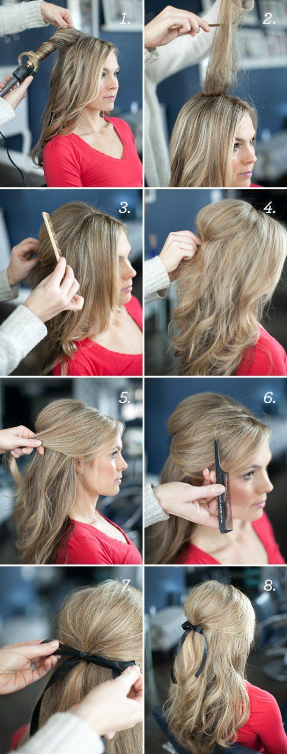 Hairstyles For Long Hair Hairstyle Tutorials For Long Hair Step