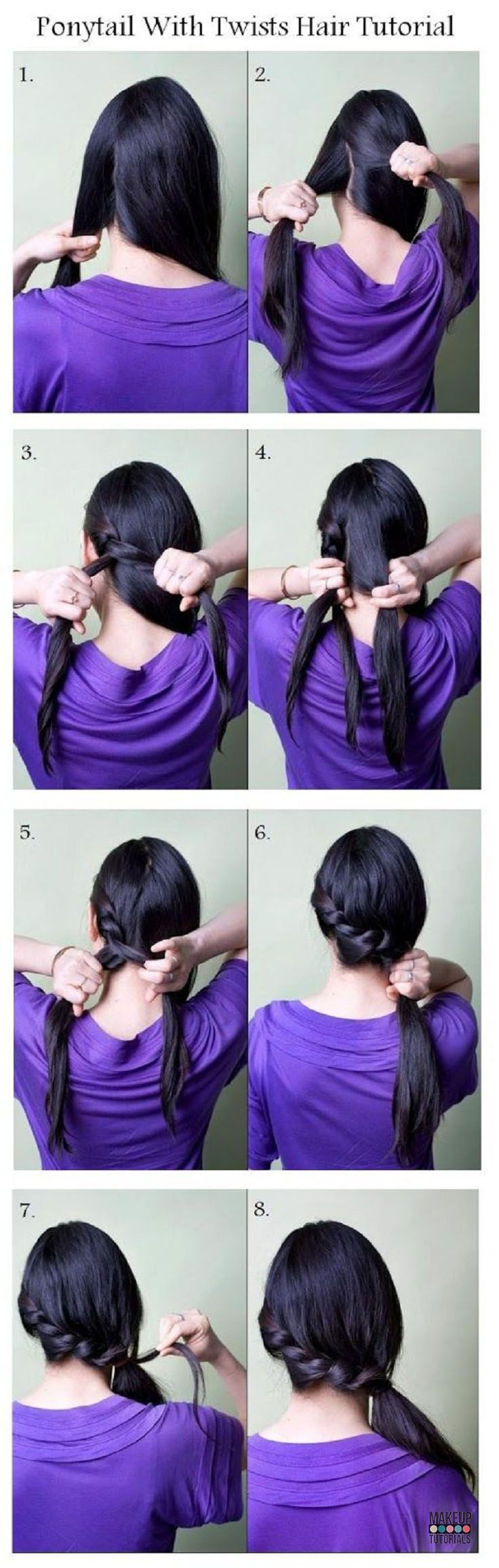 21 Easy Hairstyles You Can Wear To Work | Quick DIY Hair Ideas For Office Women ...
