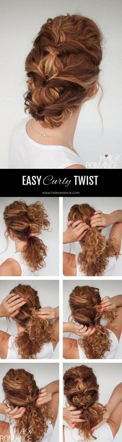 The Triple Curly Twist | Naturally Curly Hair  | Awesome Hairstyles For Holiday,...