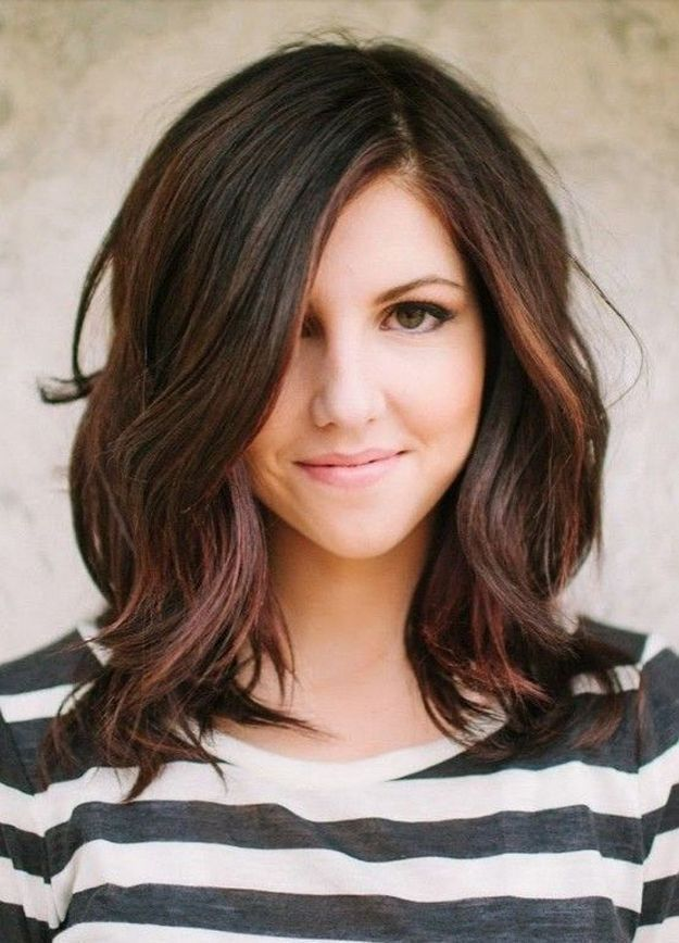 Hairstyles For Long Hair Edgy Medium Haircut Ideas Shoulder