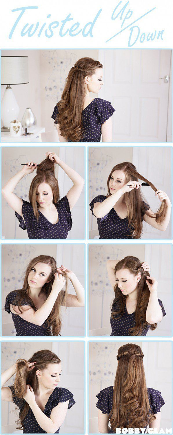 Hairstyle Tutorials for Long Hair | Step By Step Hair Updo by Makeup Tutorials a...