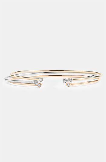 Lana Jewelry 'Echo' Diamond Cap Bracelet | Nordstrom