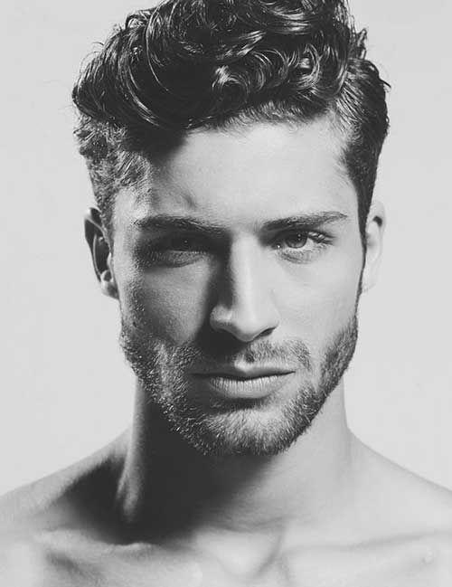 Fashionable Men\'s Haircuts. : 10 Thick Curly Hair Men   Men ...