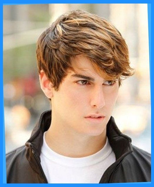 Fashionable Mens Haircuts Hair Styles For Teen Boys Curly Wavy