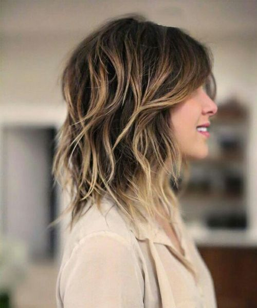 Mid length hairstyles 2017 comes in many variations. From here, you can try any ...