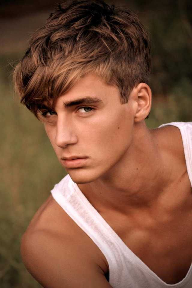 Fashionable Mens Haircuts Teen Boy Haircut Long Top Yahoo