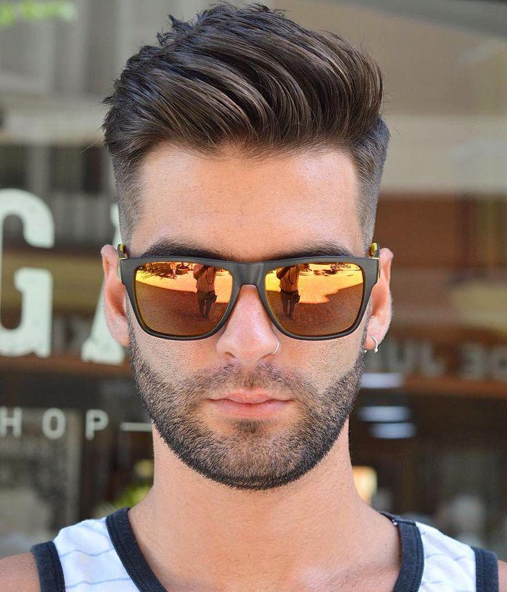 Fashionable Mens Haircuts Virogas Barber Medium Length Mens