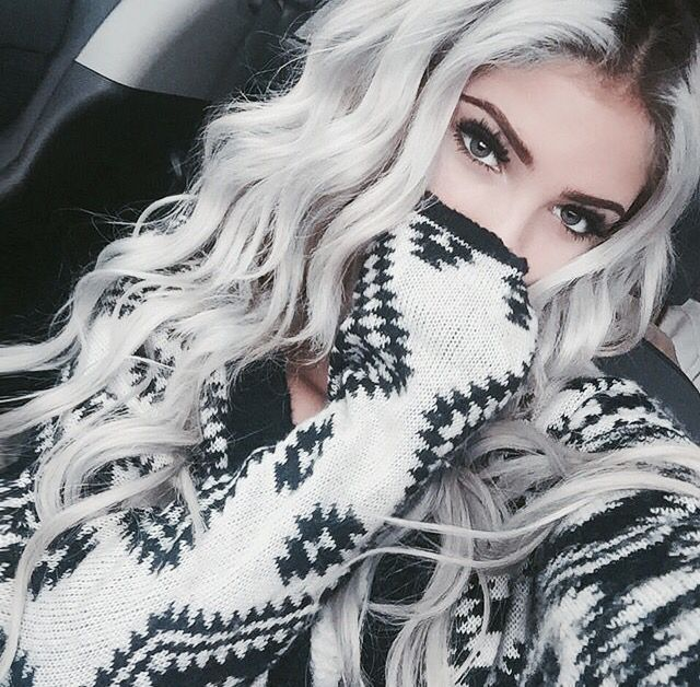 Bold Silver | 10 Awesome Silver Hair Colors Ideas | Absolutely Gorgeous And Stun...