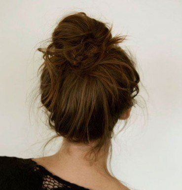 Hairstyles For Long Hair Casual Messy Hair Bun 14 Stunning