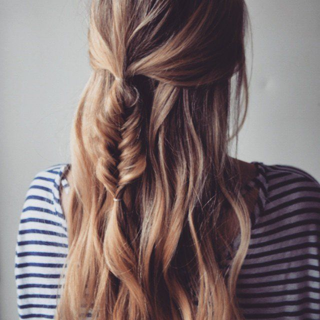 DIY Loose Messy Braids | 9 Braided Hairstyles For Spring, check it out at makeup...